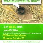 Gut besuchter Vortrag: Die letzten Feldhamster in NRW